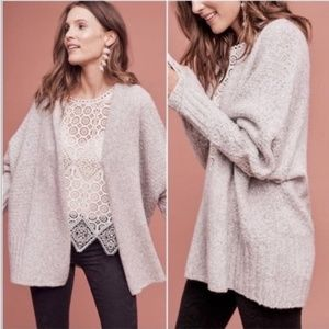 Anthropologie Angel of the North Open Cardigan XSP